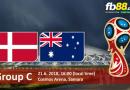 BẢNG C – FIFA WORLD CUP 2018 : Nhận định Đan Mạch vs Úc vào lúc 22h ngày 21/06