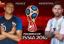VÒNG 1/8 – FIFA WORLD CUP 2018 : Nhận định Pháp vs Argentina vào lúc 21h ngày 30/06