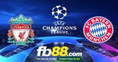 Soi Kèo Cá Cược UEFA Champions League Liverpool Vs Bayern 03h00, Ngày 20-02
