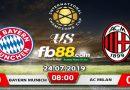 Soi Kèo Tài Xỉu Bayern Vs AC Milan 08h00 Ngày 24-07 ICC 2019