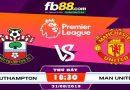 Southampton vs Manchester United tại fb88