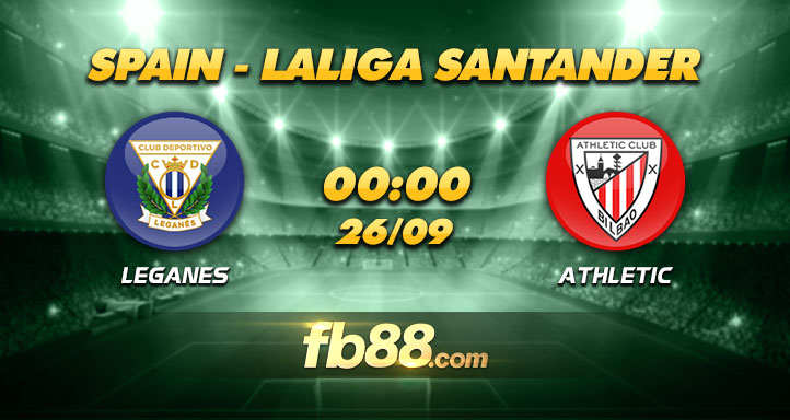 fb88 soi kèo CD Leganes vs Athletic Bilbao