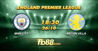 fb88 soi kèo Manchester City vs Aston Villa