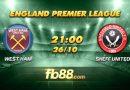 fb88 soi kèo West Ham United vs Sheffield United