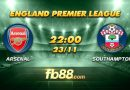 fb88 soi keo Arsenal vs Southampton