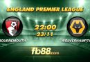fb88 soi keo Bournemouth vs Wolverhampton