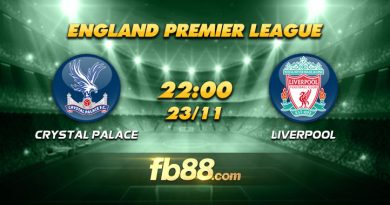 fb88 soi keo Crystal Palace vs Liverpool