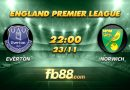 fb88 soi keo Everton vs Norwich City