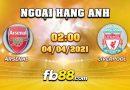 soi keo nha cai Arsenal vs Liverpool 4-4-2021