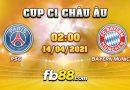 soi keo nha cai PSG vs Bayern Munich 14-04-2021