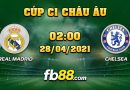Soi Kèo Real Madrid Vs Chelsea 2h00 Ngày 28/04/2021