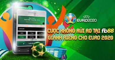 Khuyến Mãi: Cược Không Rủi Ro, Giành Riêng Cho Euro 2020