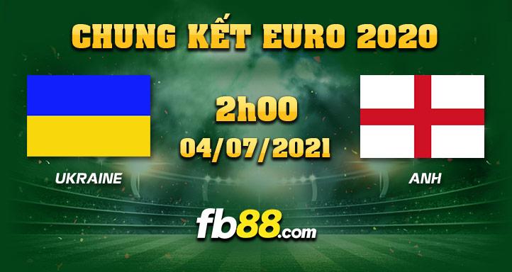 fb88 soi keo Ukraine vs Anh 04-07-2021