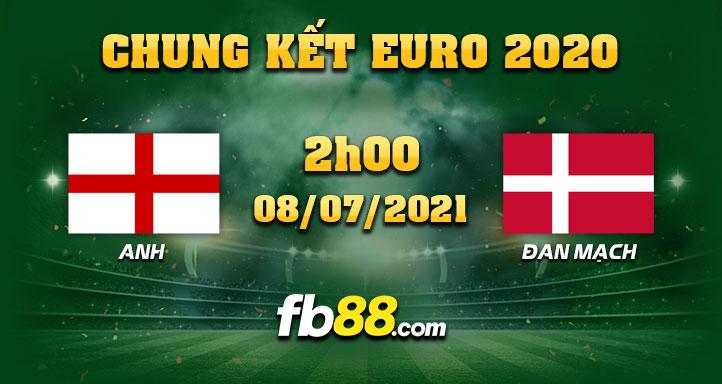 fb88 soi keo nha cai Anh vs Dan Mach 08-07-2021
